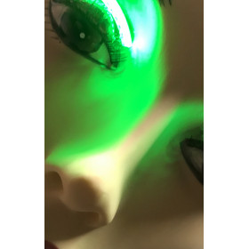 LED wimpers groen, 3 knipper-effecten